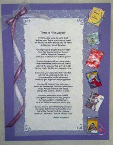 Joyce's Poem