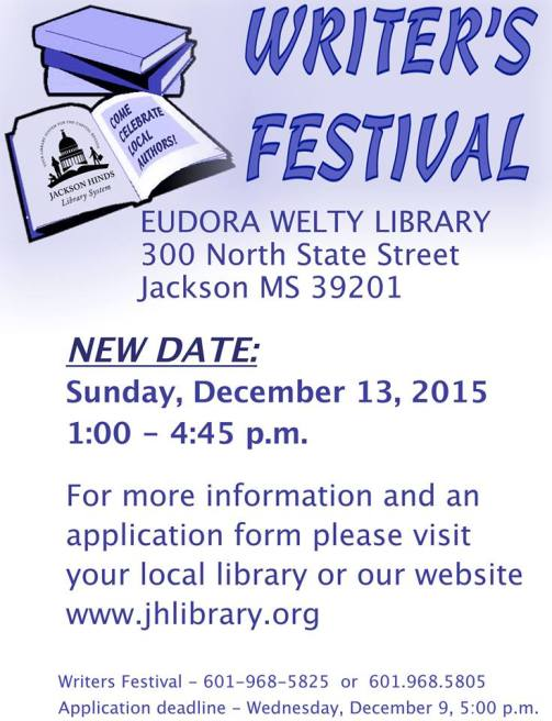 Eudora Welty Library Writer Fest