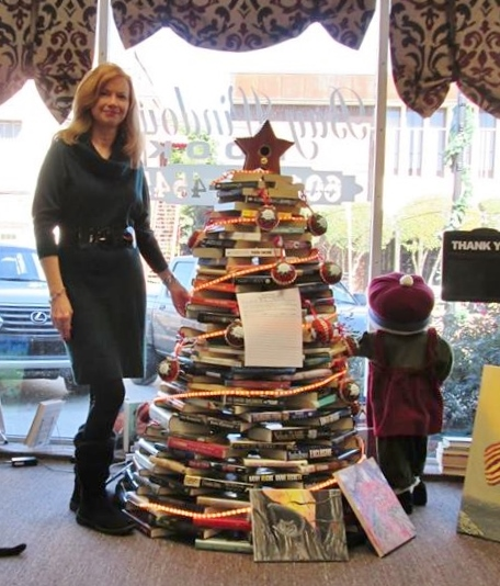 book tree light